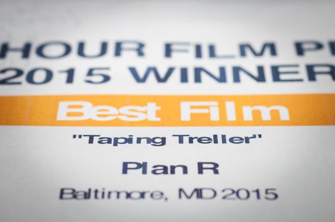Taping Treller Wins!