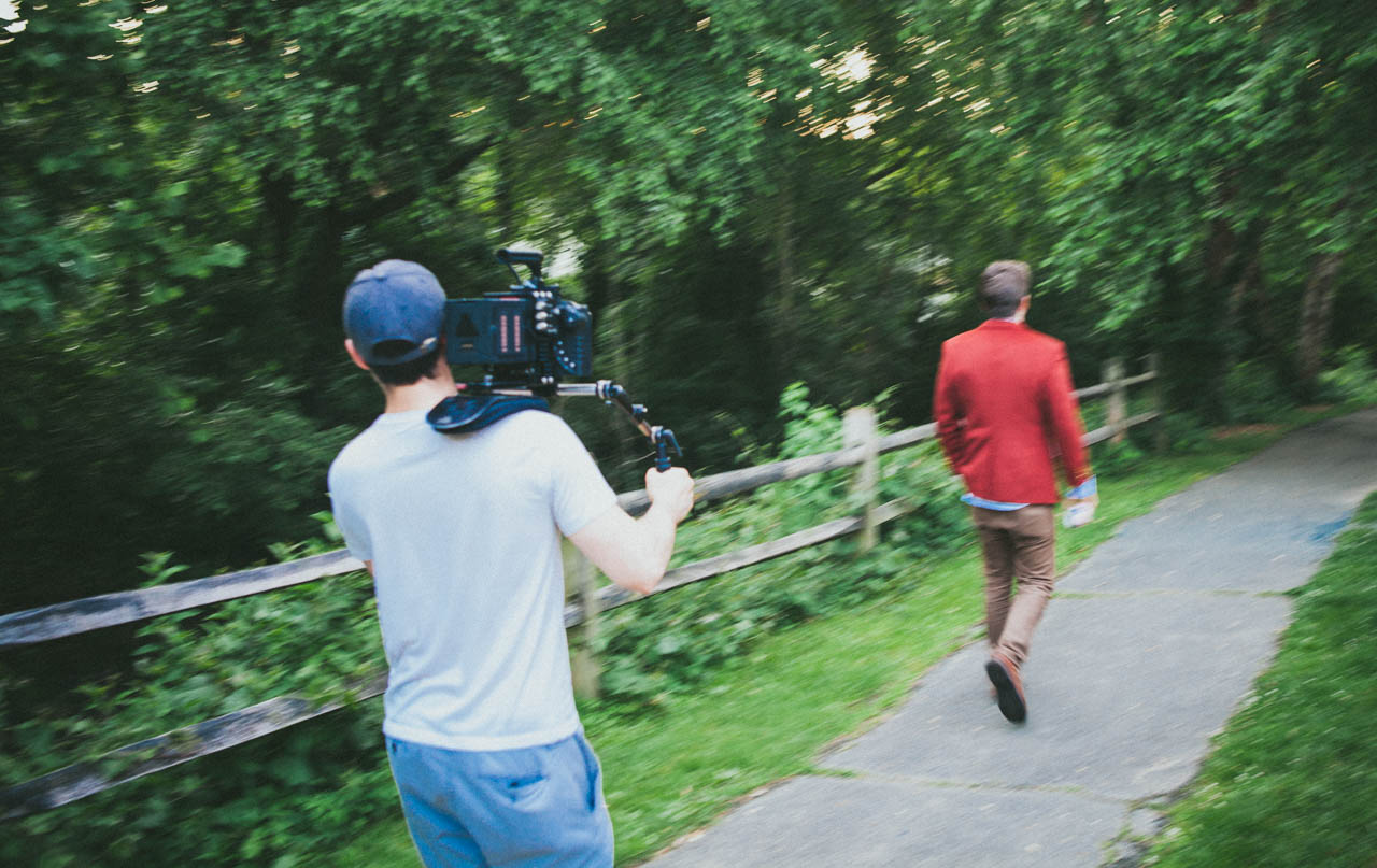 Behind The Scenes – Taping Treller